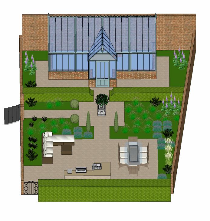 Small Garden Plan
