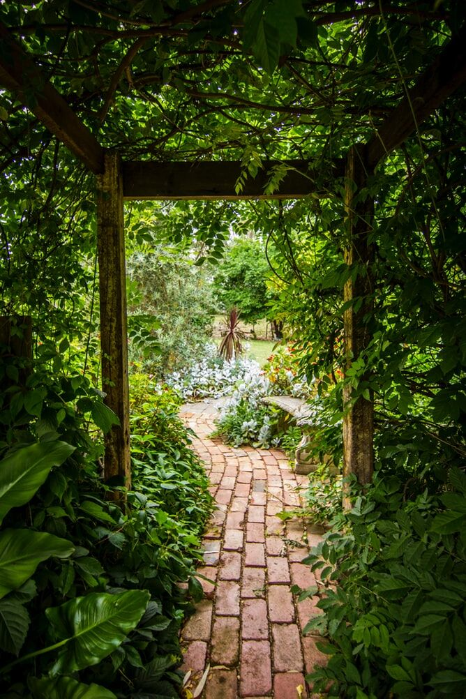 designing a layered garden