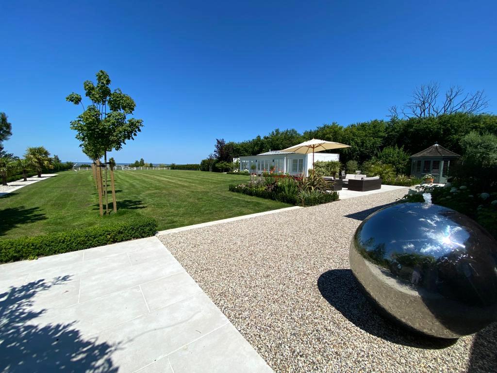 Contemporary Garden, Pool House Garden, mediterranean garden